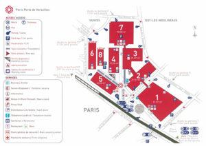 Plan Porte de Versailles