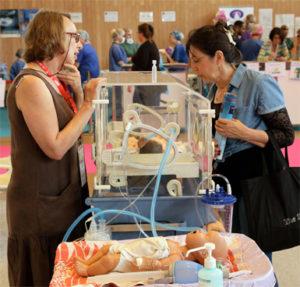 espace enfance et santé sur le salon infirmier 2019